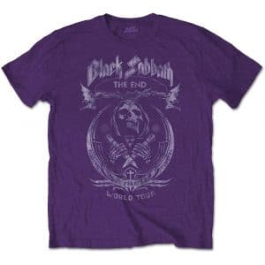 Black Sabbath Mens T-Shirt: The End Mushroom Cloud (XX-Large)