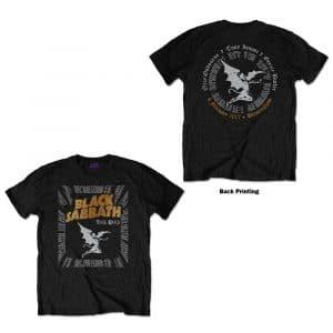 Black Sabbath Mens T-Shirt: The End Demon (Back Print) (XX-Large)