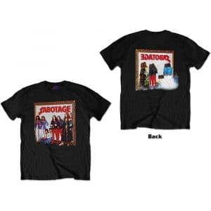 Black Sabbath Mens T-Shirt: Sabotage (Back Print) (XX-Large)