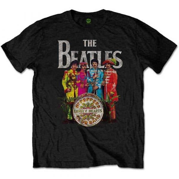 The Beatles Mens T-Shirt: Sgt Pepper (XX-Large)