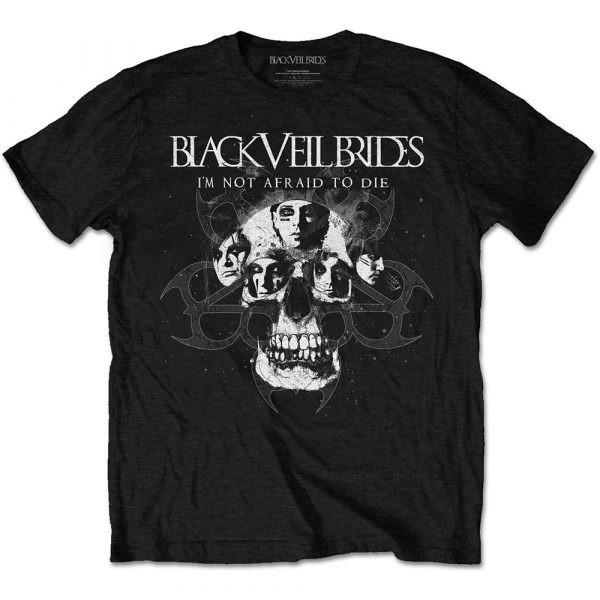 Black Veil Brides Mens T-Shirt: I'm Not Afraid To Die (XX-Large)
