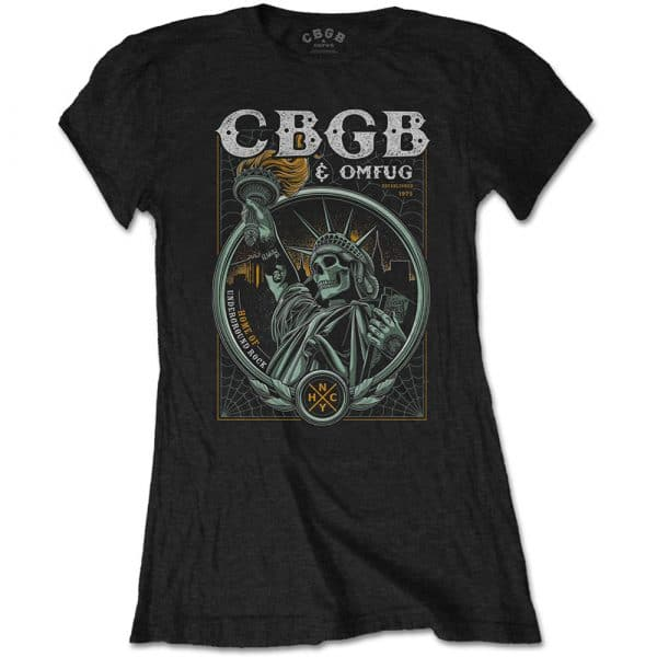 CBGB Ladies T-Shirt: Liberty (XX-Large)