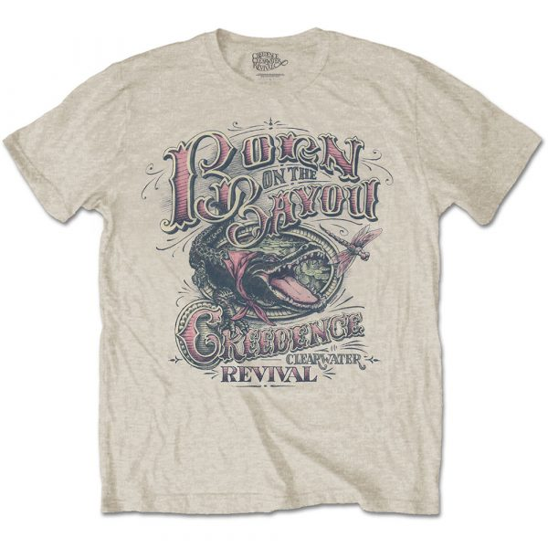 Creedence Clearwater Revival Mens T-Shirt: Born on the Bayou (XX-Large)