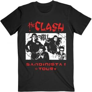 The Clash Mens T-Shirt: Sandanista (XX-Large)