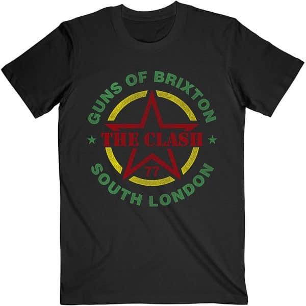 The Clash Mens T-Shirt: Guns of Brixton (XX-Large)