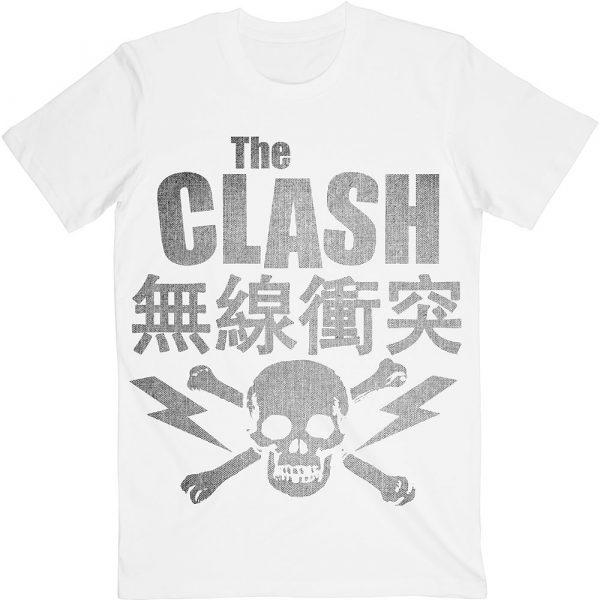 The Clash Mens T-Shirt: Skull & Crossbones (XX-Large)