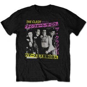 The Clash Mens T-Shirt: London Calling Japan Photo (XX-Large)