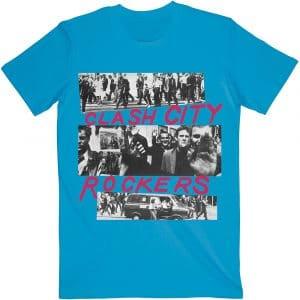 The Clash Mens T-Shirt: City Rockers (XX-Large)