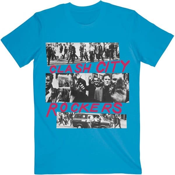 The Clash Mens T-Shirt: City Rockers (XX-Large)