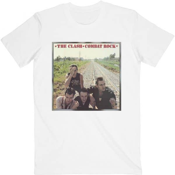 The Clash Mens T-Shirt: Combat Rock (XX-Large)