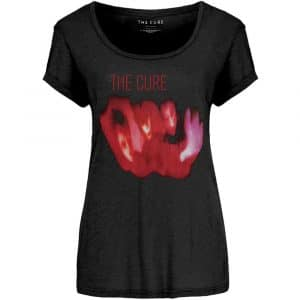 The Cure Ladies T-Shirt: Pornography (Scoop Neck) (XX-Large)
