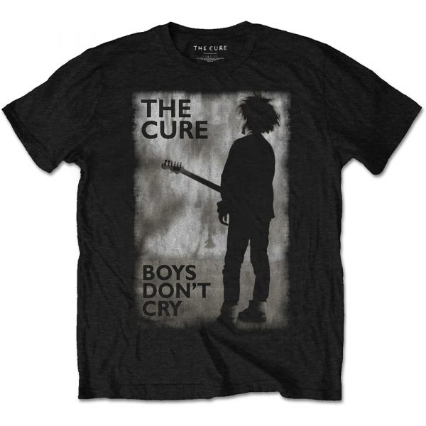 The Cure Mens T-Shirt: Boys Don't Cry Black & White (XX-Large)