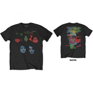 The Cure Mens T-Shirt: In Between Days (Back Print) (XX-Large)
