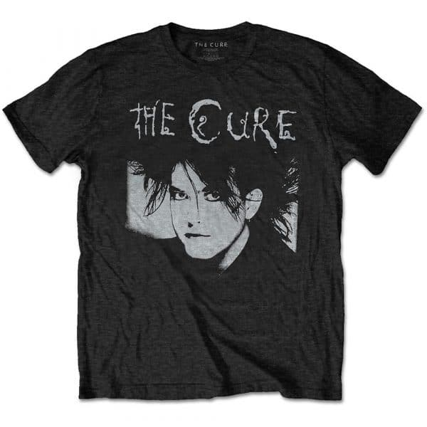 The Cure Mens T-Shirt: Robert Illustration (XX-Large)