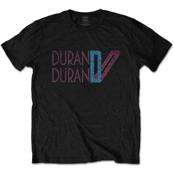 Duran Duran Mens T-Shirt: Double D Logo (XX-Large)