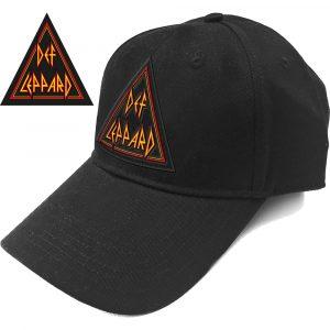 Def Leppard Baseball Cap: Tri Logo