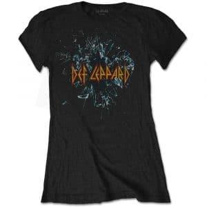 Def Leppard Ladies T-Shirt: Shatter (XX-Large)