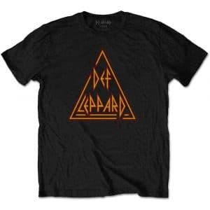 Def Leppard Mens T-Shirt: Classic Triangle (XX-Large)