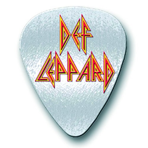 Def Leppard Pin Badge: Pick Logo