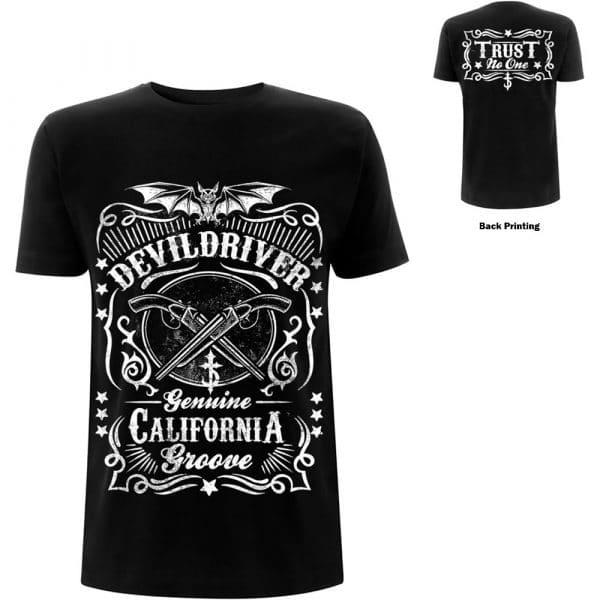 DevilDriver Mens T-Shirt: Sawed Off (Back Print) (XX-Large)