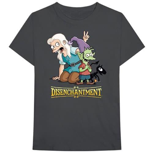 Disenchantment Mens T-Shirt: Group (XX-Large)