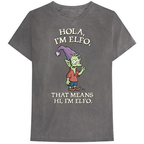 Disenchantment Mens T-Shirt: Hola I'm Elfo (XX-Large)