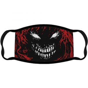 Disturbed Face Mask: Scary Face