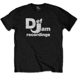 Def Jam Recordings Mens T-Shirt: Classic Logo (XX-Large)