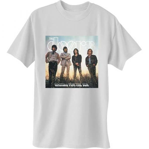 The Doors Mens T-Shirt: Waiting for the Sun (XX-Large)