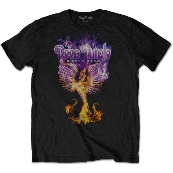 Deep Purple Mens T-Shirt: Phoenix Rising (XX-Large)