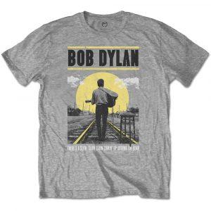 Bob Dylan Mens T-Shirt: Slow Train (XX-Large)