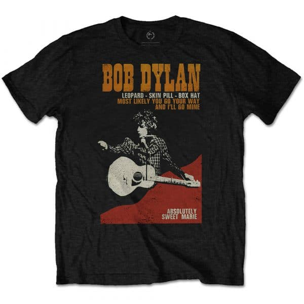 Bob Dylan Mens T-Shirt: Sweet Marie (XX-Large)