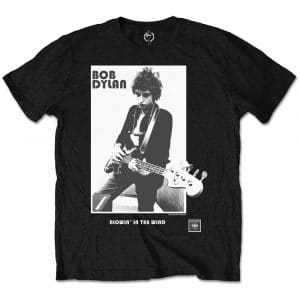 Bob Dylan Mens T-Shirt: Blowing in the Wind (Retail Pack) (XX-Large)