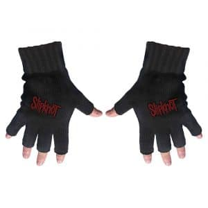 Slipknot Unisex Fingerless Gloves: Logo
