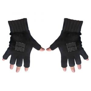 Dimmu Borgir Unisex Fingerless Gloves: Logo