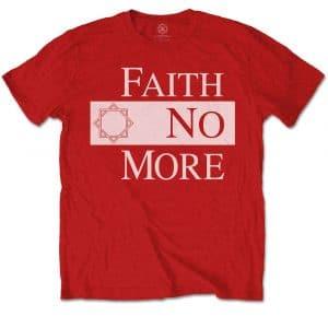 Faith No More Mens T-Shirt: Classic New Logo Star (XX-Large)