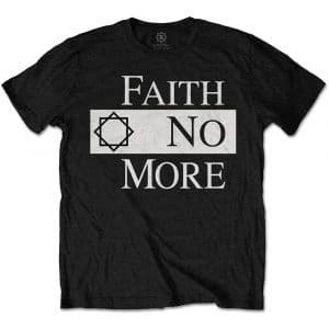 Faith No More Mens T-Shirt: Classic Logo V.2. (XX-Large)