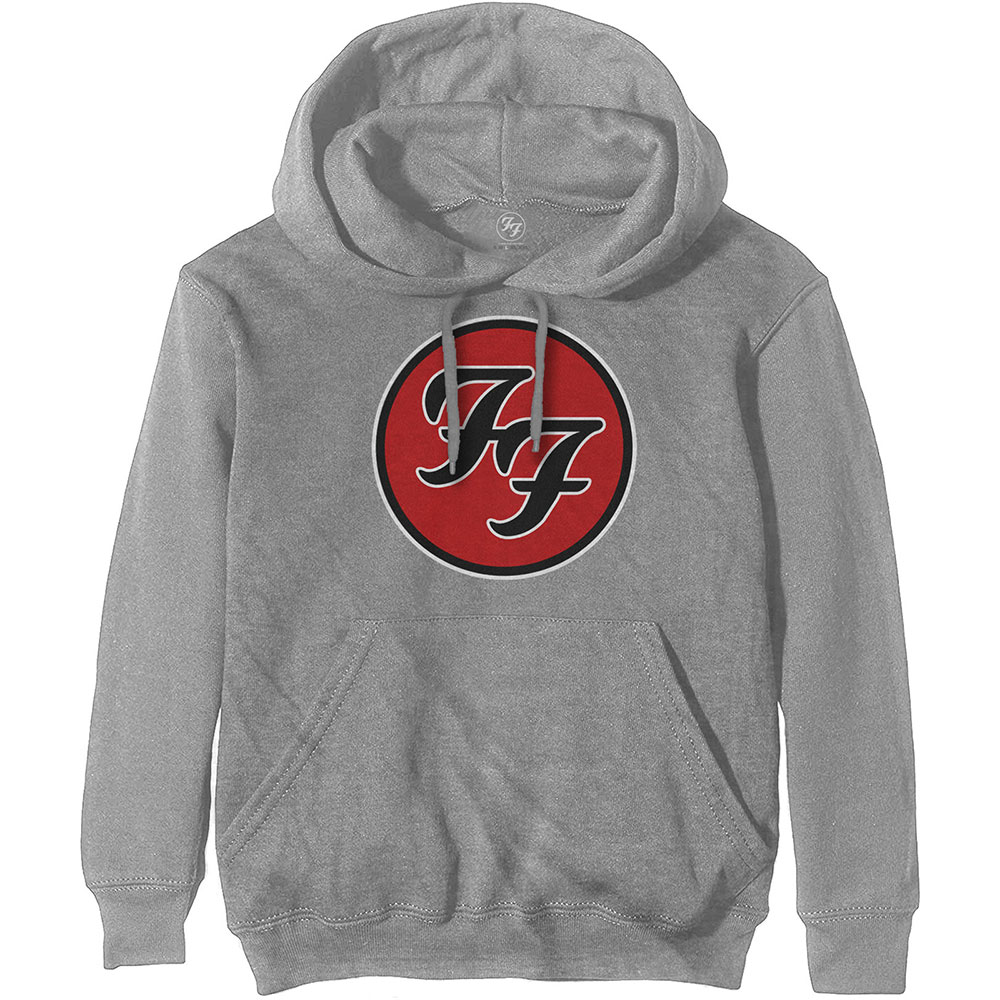 Foo Fighters Unisex Hoodie: FF Logo (XX-Large)