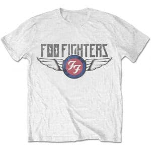 Foo Fighters Mens T-Shirt: Flash Wings (XX-Large)