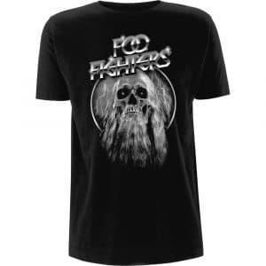 Foo Fighters Mens T-Shirt: Bearded Skull (XX-Large)