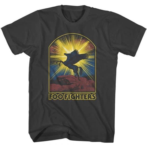 Foo Fighters Mens T-Shirt: Pegasus (XX-Large)