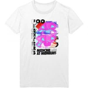 Foo Fighters Mens T-Shirt: Medicine At Midnight Tilt (XX-Large)