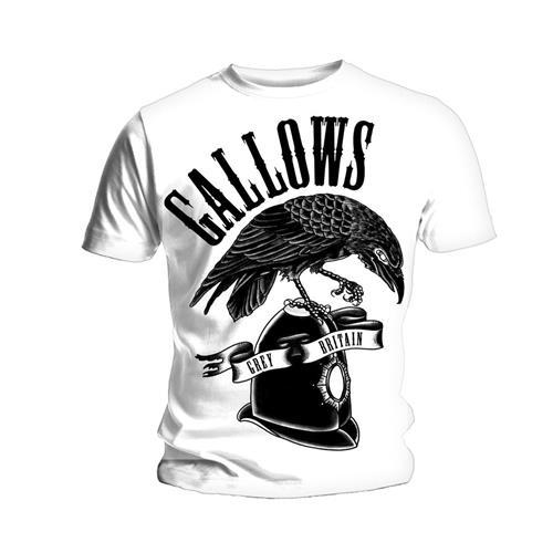 Gallows Mens T-Shirt: Grey Britain (XX-Large)