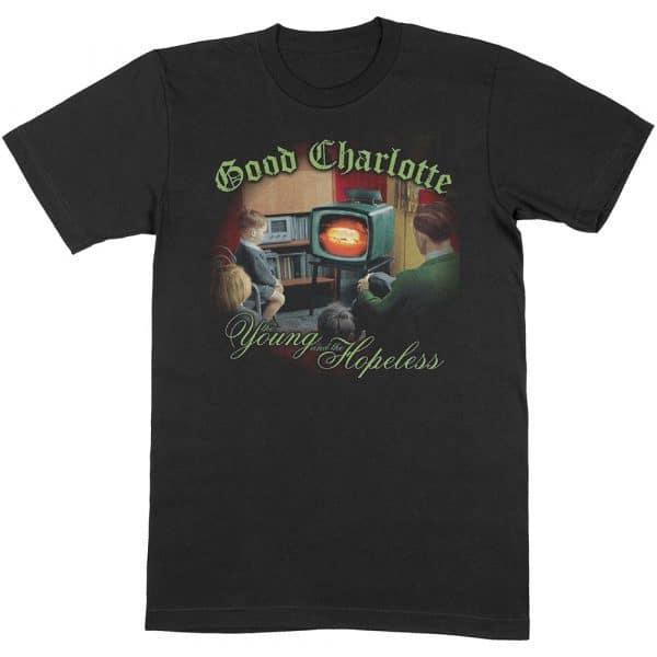 Good Charlotte Mens T-Shirt: Young & Hopeless (XX-Large)