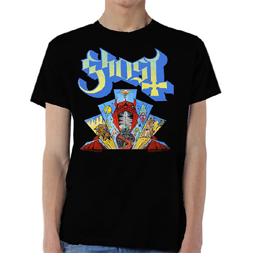 Ghost Mens T-Shirt: Devil Window (XX-Large)