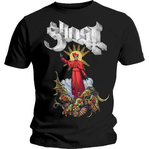 Ghost Mens T-Shirt: Plague Bringer (XX-Large)