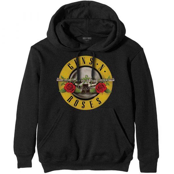 Guns N' Roses Mens Pullover Hoodie: Classic Logo (XX-Large)