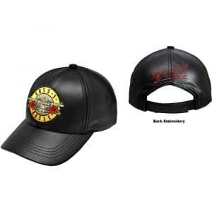 Guns N' Roses Baseball Cap: GnFnRs (Faux Leather)