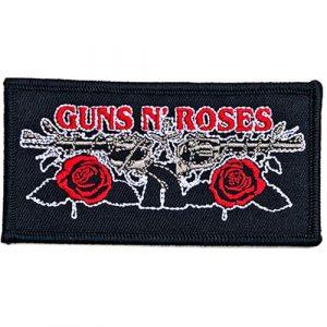 Guns N' Roses Standard Patch: Vintage Pistols