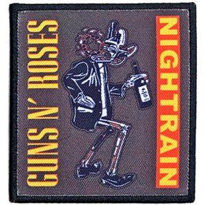 Guns N' Roses Standard Patch: Nightrain Robot
